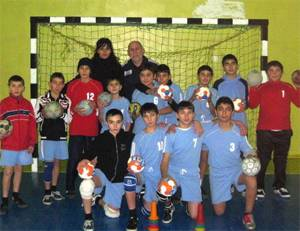 Yerevan Children's and Youth's specialized sport school of handball and other game sports NCO
