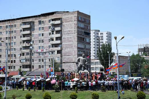 Commemoration day of fedayeens and the hero of Armenian national liberation struggle Gevorg Chaush is marked in Yerevan
