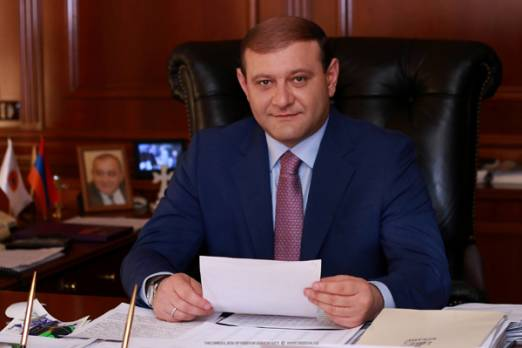 Yerevan Mayor Taron Margaryan's congratulation on Republic Day
