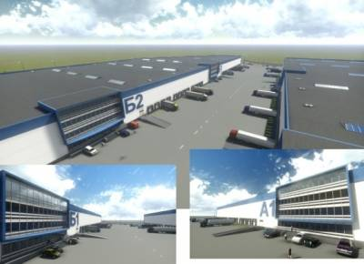 Investment project to construct wholesale and logistics storage center