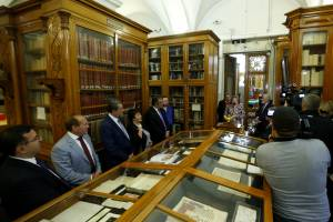 Within the frames of Yerevan Days exhibition of Armenian manuscripts is open in Saint Petersburg