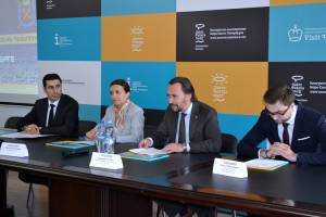 Issues related to tourism sphere of Yerevan and Saint Petersburg are discussed
