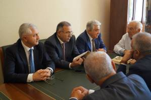 Round-table discussion concerning heath sphere within the frames of Yerevan Days in Saint Petersburg
