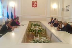 Cultural cooperation of Yerevan and Saint Petersburg is developing