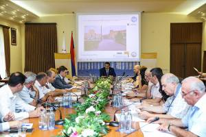 Preliminary versions of new transport network has been presented