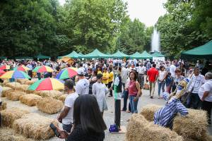 "4th annual festival ""Rural life and traditions"" is held in English park of Yerevan"