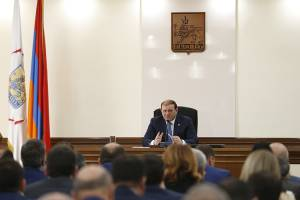 Taron Margaryan: Plan flower decoration provided for next year today