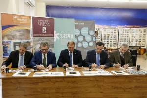 Mayor Taron Margaryan takes part in official ceremony of cancellation of the postcard with five stamps issued on the event of 200th birthday anniversary Hovhannes Ayvazovski