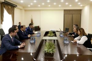 "Yerevan Mayor Taron Margaryan meets with Managing Director of ""Gehl Architects"" company"