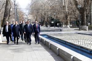 Park after 2750th anniversary of Yerevan foundation will be improved