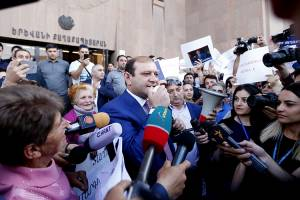 "Taron Margaryan: ""It is not customary in the world when any political forces come to power and try to put under press the electoral bodies of local self-governance"""