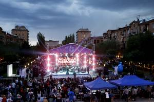 Jazz concert prior to the 2800th anniversary of Yerevan foundation