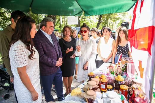 "5th annual festival of ""Rural life and traditions"" was held in Yerevan"