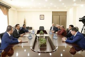 Municipality will be a partner and supporter of investors: Hayk Marutyan meets with construction developing businessmen