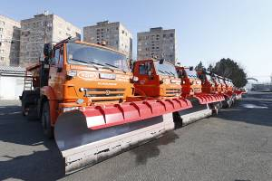 The community to become one of sanitary cleaning operators: new snow cleaning trucks to be delivered