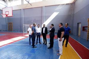 School of  gymnastics after Albert Azaryan is being repaired