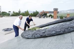 Healthy lifestyle is one of key components of new national rebirth:Yerevan delegation is in Stepanakert