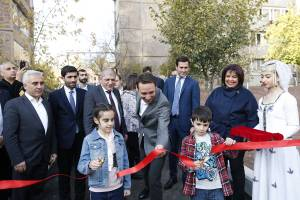 A new park instead of garages in Tumanyan quarter of Avan district