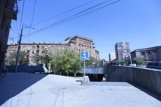 Underground crossing at Surb Gr. Lusavorich street and Mashtots avenue junction returned to community