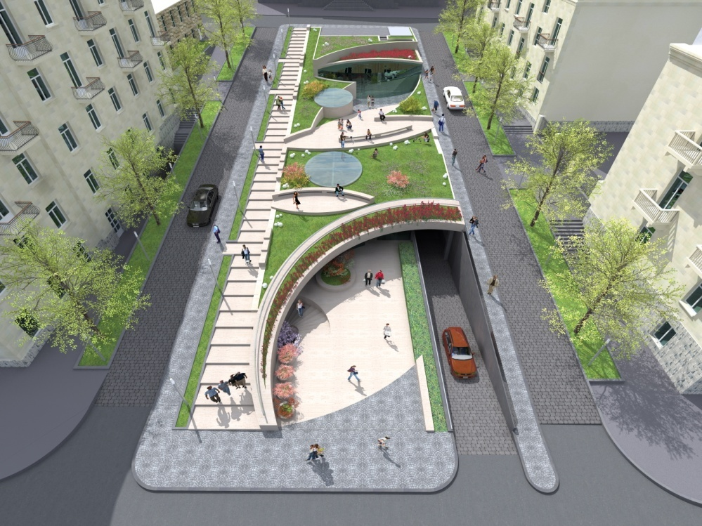 Yerevan Am Construction Of Shopping Center And