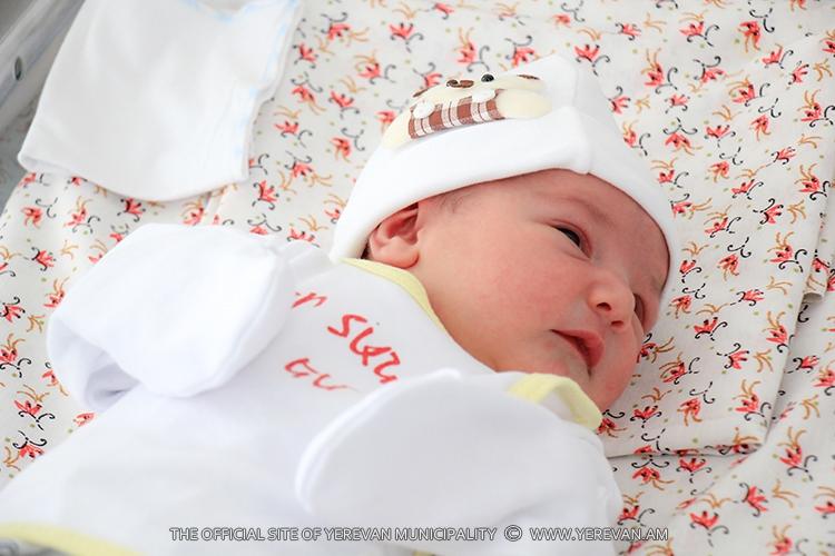 В Ереване с 3 по 9 июня родились свыше 450 малышей