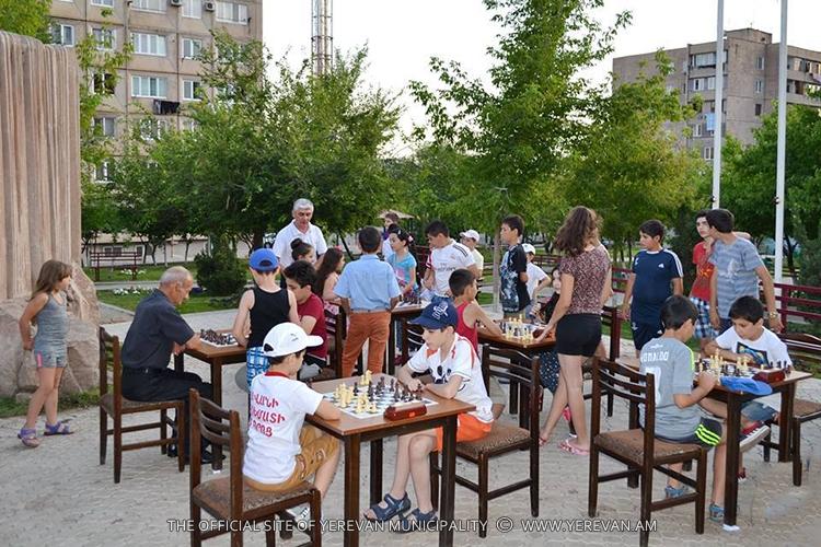 Մարզական մրցաշար` Շախմատի միջազգային օրվա առթիվ