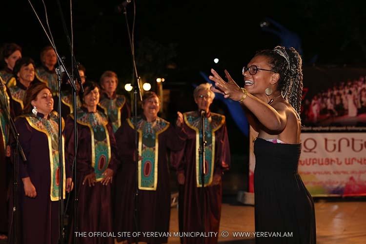 Երգչախմբային արվեստի երեկո` «Կասկադ-Գաֆեսճյան արվեստի կենտրոն հիմնադրամի» տարածքում