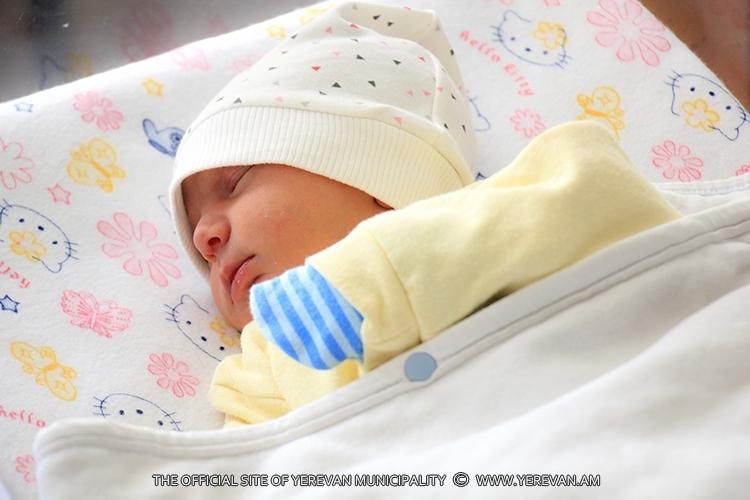 Երևանում օգոստոսի 26-ից սեպտեմբերի 1-ը ծնվել է 484 երեխա