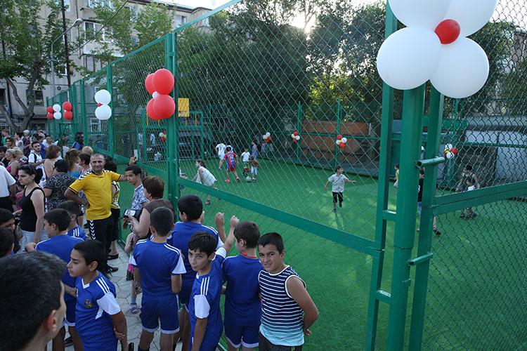 Եվս մեկ մանկական խաղահրապարակ՝  Երևանում