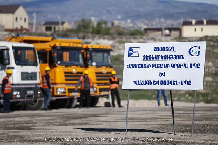Дан старт строительству новой автодороги Давташен-Аштаракское шоссе, которая свяжет северные и южные ворота Еревана