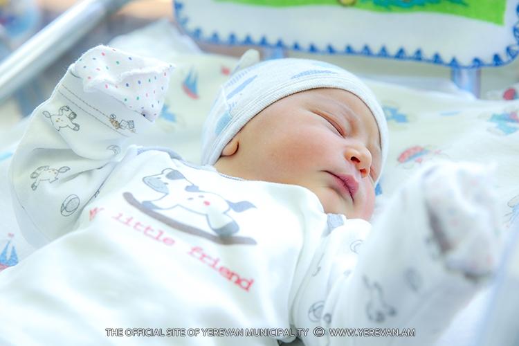 Մայիսի 26-ից հունիսի 1-ը մայրաքաղաքում ծնվել է 401 երեխա