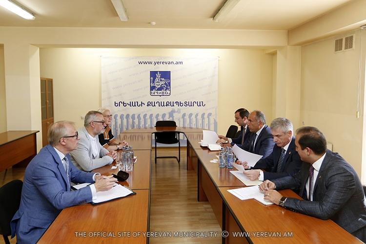 Обсуждены вопросы сотрудничеством между Ереваном и Таллином