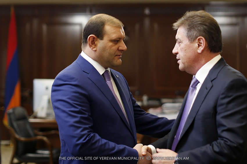 Тарон Маргарян пригласил мэра Москвы отпраздновать юбилей столицы Армении – 2800-летие Еревана