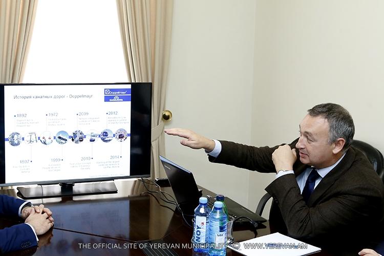 В Ереване может быть построена новая канатная дорога