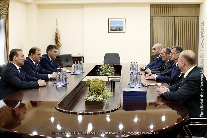 Тарон Маргарян: Мы придаем важность развитию и популяризации различных видов спорта в Ереване