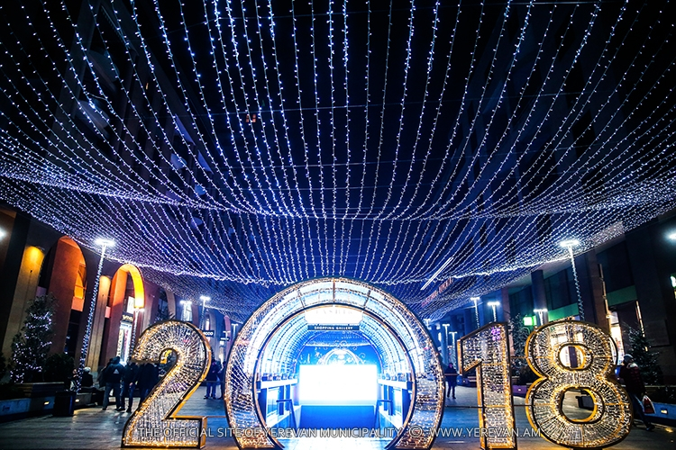 Ереван - в топ-5 популярных для новогоднего отдыха россиян городов СНГ