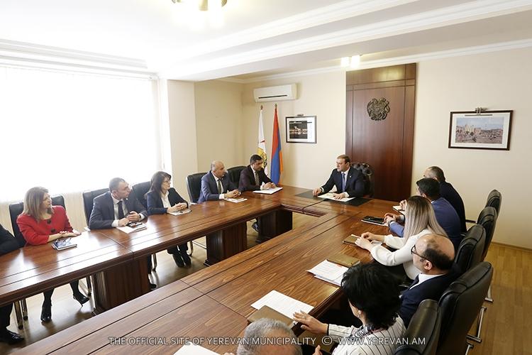 Тарон Маргарян: Разгрузка транспортных потоков в центре Еревана для нас является приоритетом