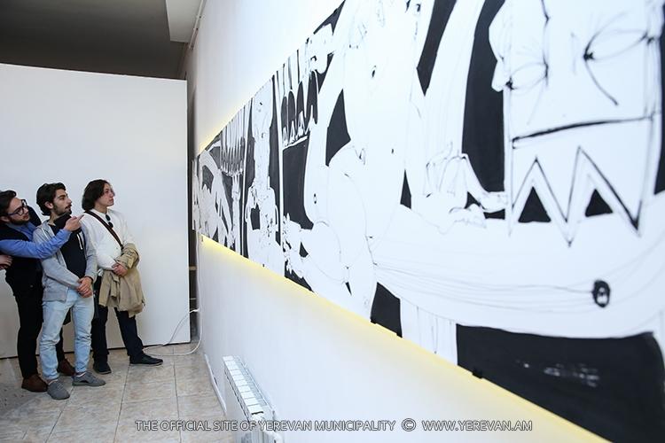 Французская художница: Уникальный проект «7 смертных грехов» создан специально для выставки в Ереване