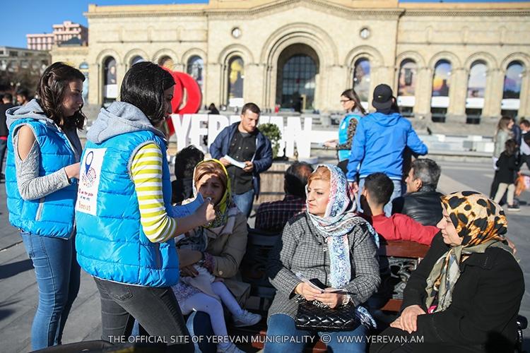 В Ереване продолжается уникальная волонтерская программа «Я – гид своего города»