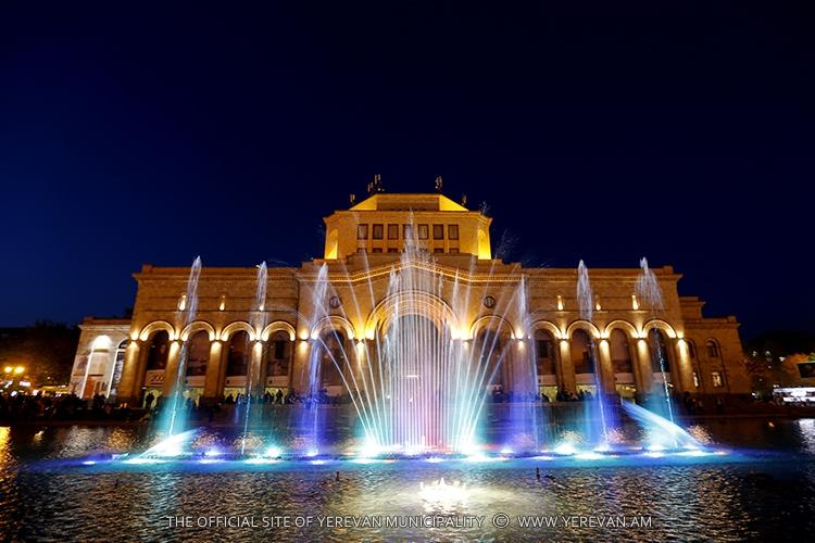 В Ереване открыт сезон фонтанов