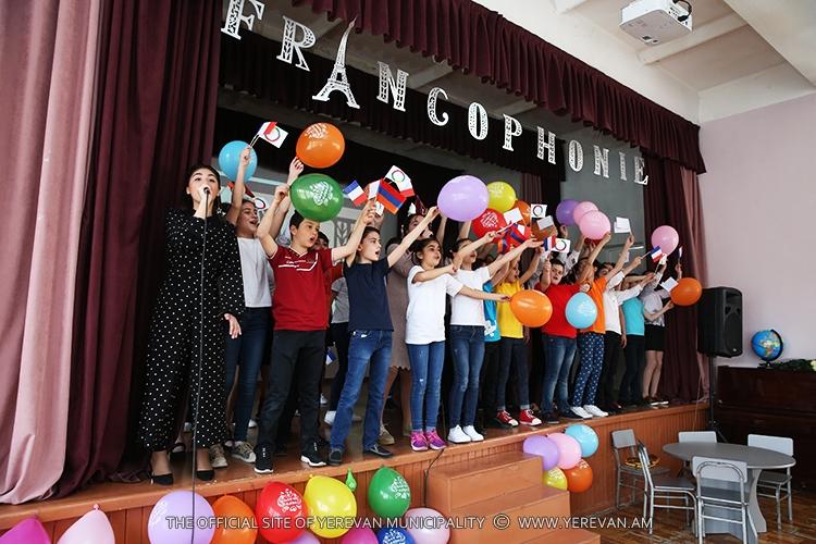 Сезон Франкофонии: в Ереване исполнили французские песни и прочли стихи