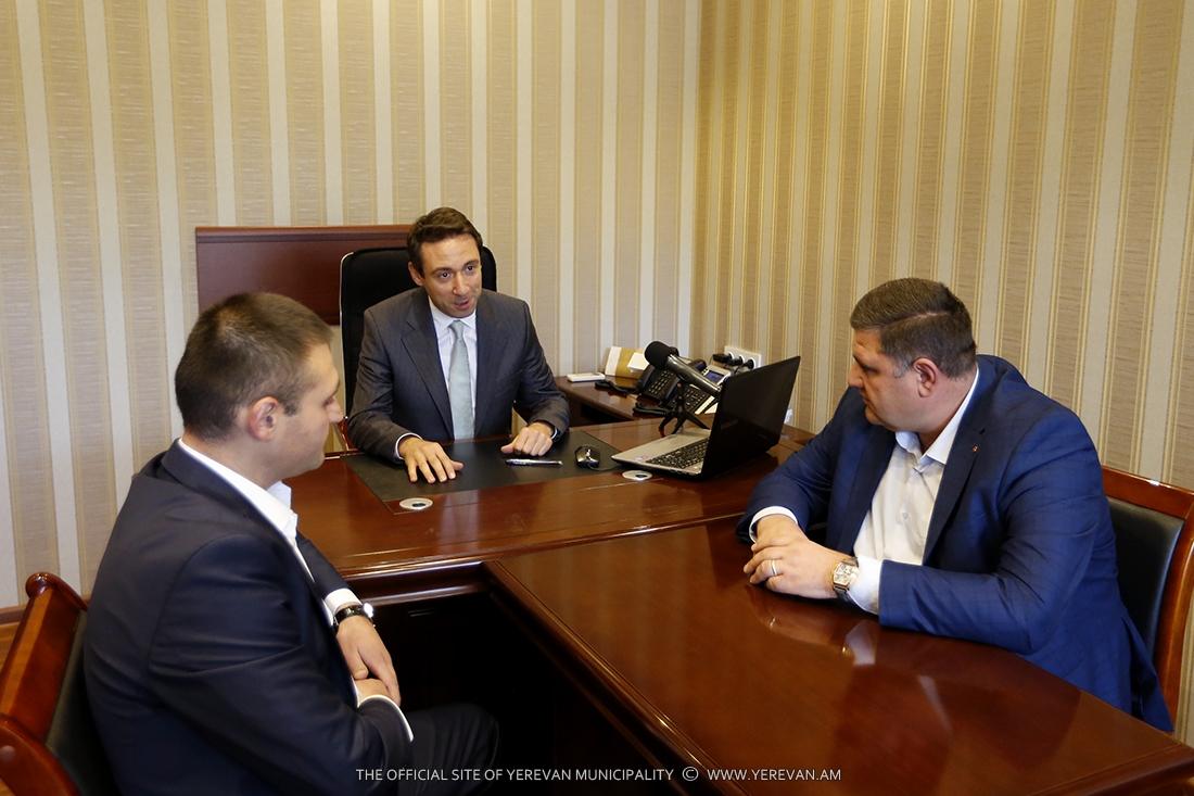 Назначены руководители еще 3 административных районов Еревана