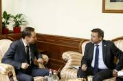 Hayk Marutyan receives Ambassador of Czech Republic