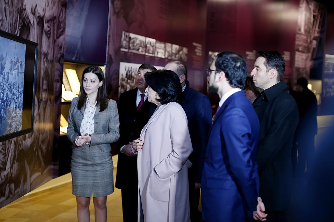 Грузия почтила память жертв геноцида Армян в Турции