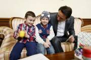 "Mayor hosts 6-year-old participant of the program of ""City of Smile"" foundation Hrant Arshakyan"