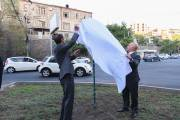 Square of Argentina has been opened in Yerevan