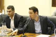 Hayk Marutyan hears out citizens' proposals regarding road segment connecting Babajanyan street to Ashtarak