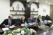 Mayor Hayk Marutyan hosts the Country Director of Armenian Office of ADB Mr Paolo Spantigati