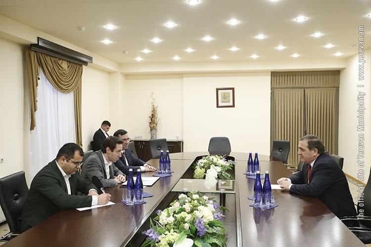 Hayk Marutyan hosts Ambassador of Georgia to Armenia