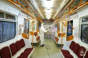 Yerevan Municipality undertakes disinfection of public transport
